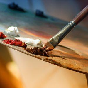 Ölmalerei – Darstellung des Lichts