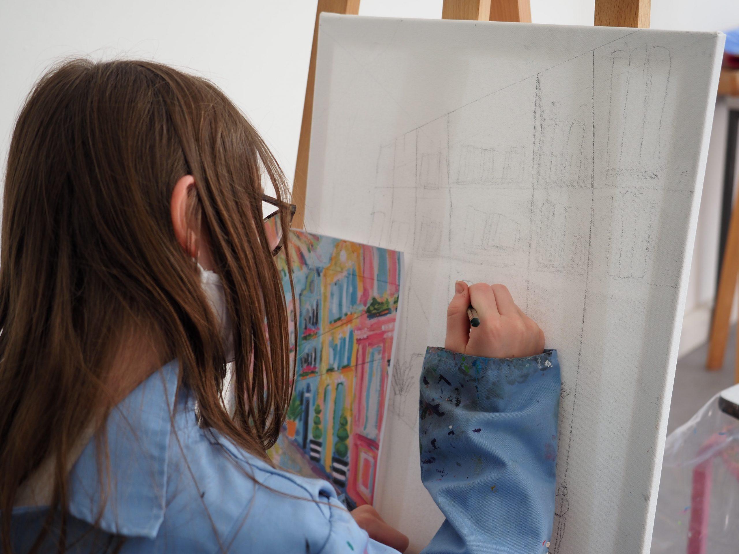 Farbe, Kreativität und viel frische Luft – unsere Kinderkurse sind erfolgreich gestartet