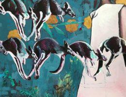 Franziska Kuo: Blaue Bewegung